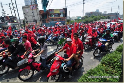 red shirts rally
