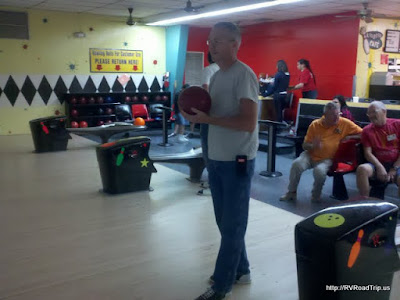 Jerry at the bowling alley.
