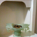 Carved jade bowl I use for my jewelry