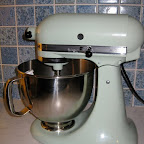 Kitchen Aid Stand Mixer (helps with my baking addiction)