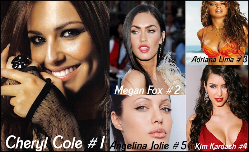 top 5 celebs