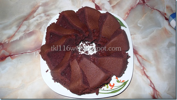 巧克力雪芳蛋糕[Moist Chocolate Chiffon]