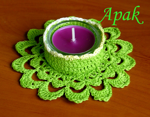 .الكرووووشي للشمووووووووع....تحفففففة Tealight%20green