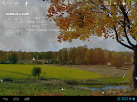 Screenshot of Nature Live Weather LWP