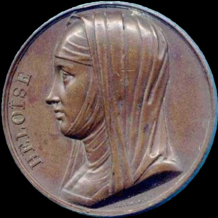 Robert Plant Conundrum - Early 19th Century Medallion of  Heloise, Abelard's Darling Soulmate.
