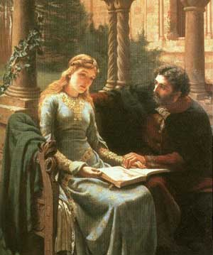 Robert Plant Conundrum - Abelard And Heloise by Blair-Leighton