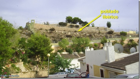 Ubicación del poblado ibérico