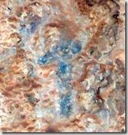 Figura antropomorfa esquemática - Cueva de la Gran Petxina - Bellús