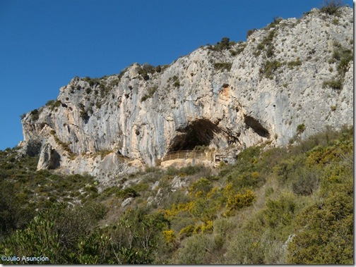 Abrigo de les Torrunades - Arte rupestre - Vall d´Ebo