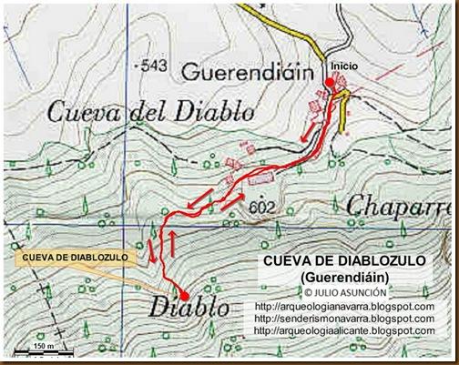 Mapa Cueva de Diablozulo
