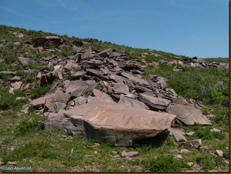 Túmulos megaliticos - sector 2 - ruta Legate - Valle de Baztán