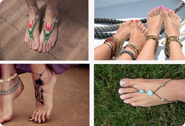accesorios para los pies
