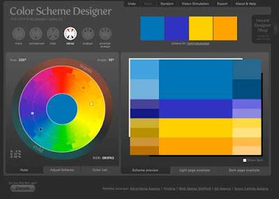 Color Scheme Designer 3 - Pintangle