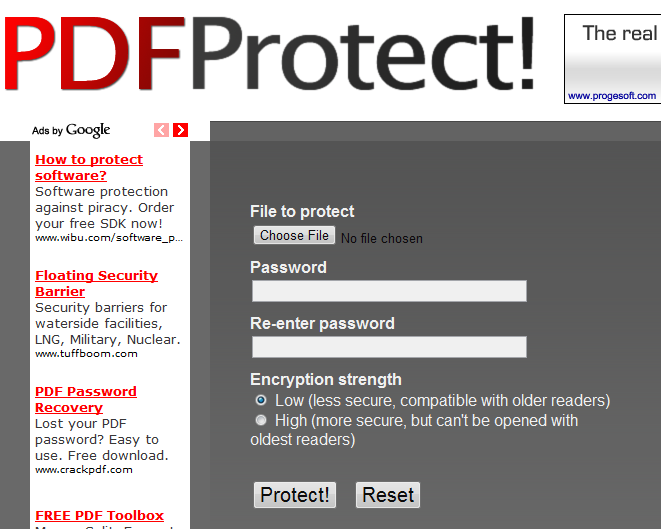 Free File Password Protection Software