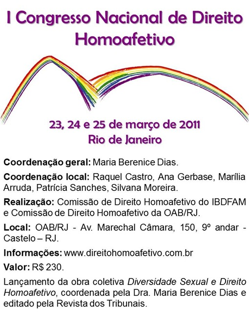 CongressoDireitoHomoafetivo