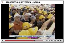 PROTESTE SFOLLATI L'AQUILA