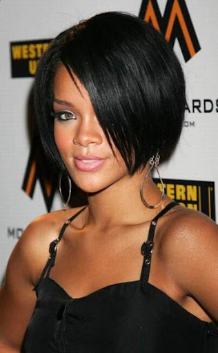 styles for short hair women. Black Woman Trendy Hair Styles
