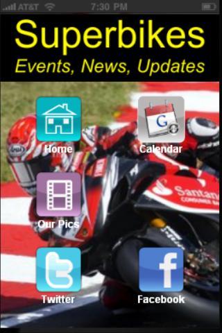 SuperBikes Fan App
