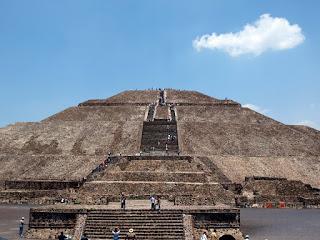 Dziennik podróży: Pirámide del Sol, Teotihuacán, Meksyk