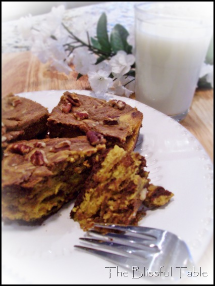 pumpkin chocolate brownies 029a