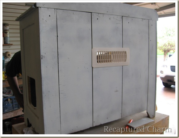 Old Cabiinet to litterbox 011