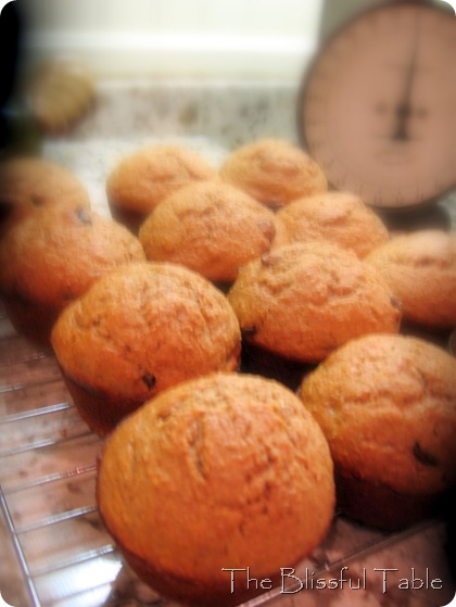 banana bran muffins 018