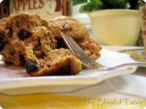 banana bran muffins 024