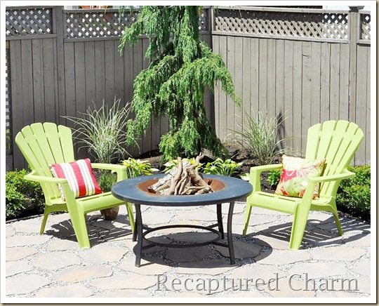 Fire Pit Patio 072a