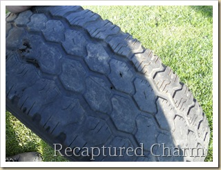 shed tires with flowers 001