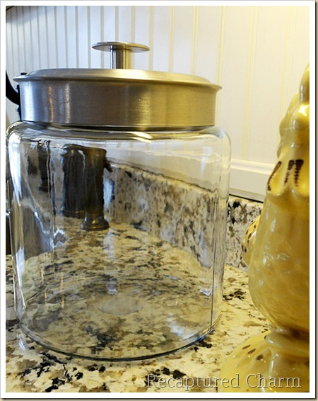 Etched Cookie Jar 007a
