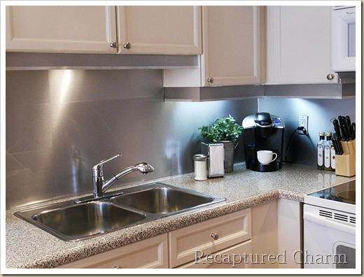 stainless steel backsplash 049a