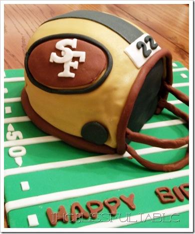 football helmet cake 3a