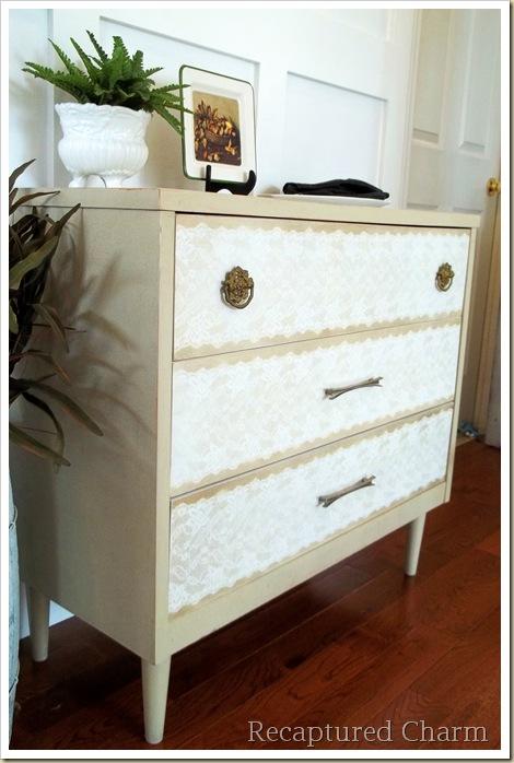 old teak dresser 045a