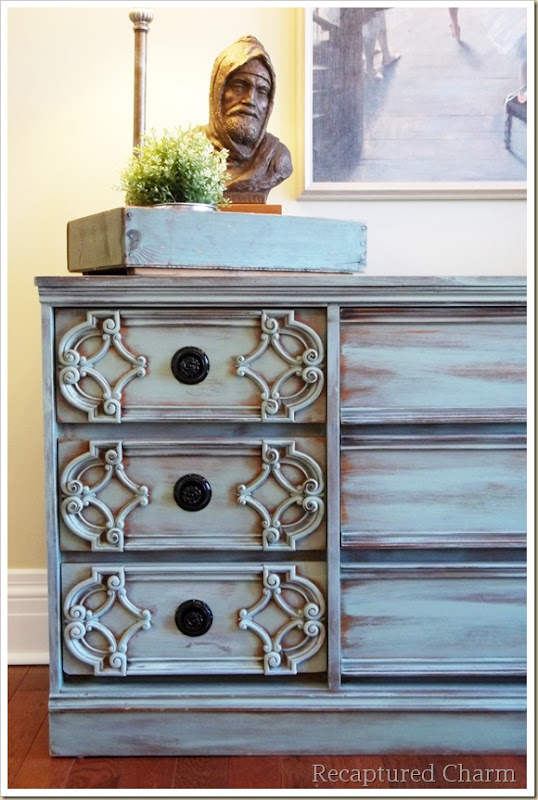 turquoise dresser 039a
