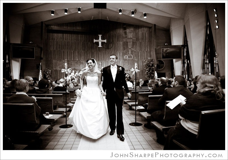 Minneapolis  Wedding Photographer at Trinity Lutheran Church
