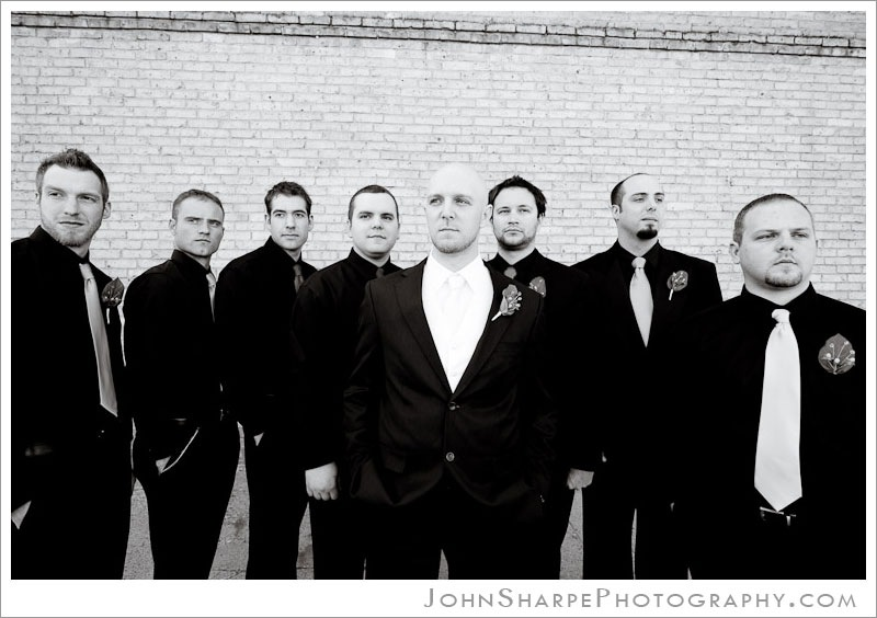 St Cloud Groom and Groomsmen Portraits