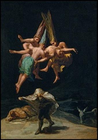 Goya, Vuelo de brujas