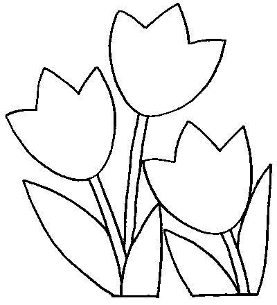 25 melhores ideias de Pintura de tulipa