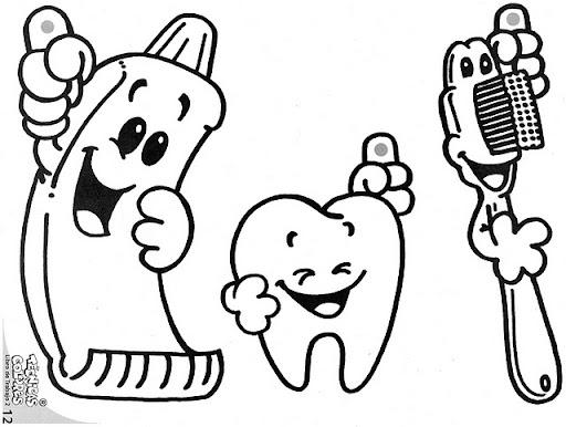 Dibujos de dientes y muelas - Imagui