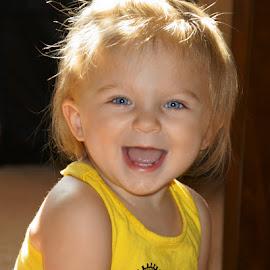 Sunshine by Luanne Bullard Everden - Babies & Children Children Candids ( love, girls, children, sunshine, candid, toddler, smiles )