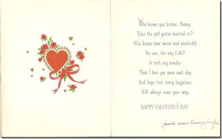 MILLER, Harold Leslie MILLER Valentine's Day Card 01-B