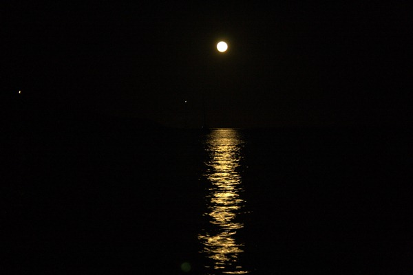 Full moon over Baja