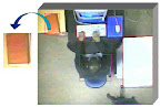 Overhead Image for Object/Action Recognition in the Office
