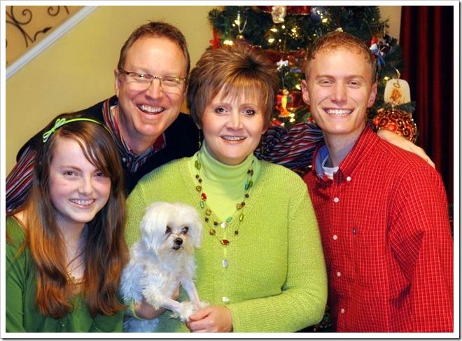 family photo serious