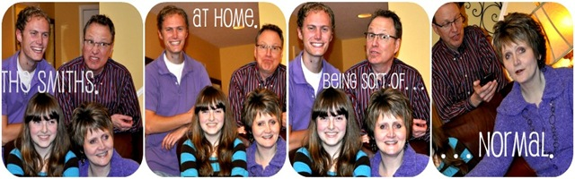 at home collage