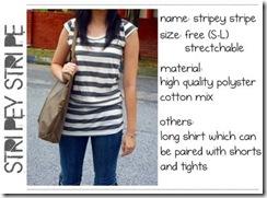 stripey stripe front