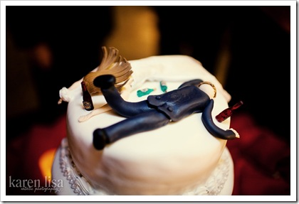 Drunk Wedding Cake Toppers