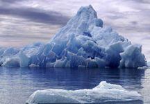 buz dağı manzarası resmi