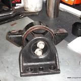 Motor mount before filling