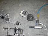 WRX Strut assembly taken apart